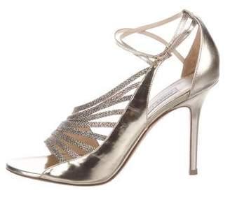 Jimmy Choo Metallic High-Heel Sandals