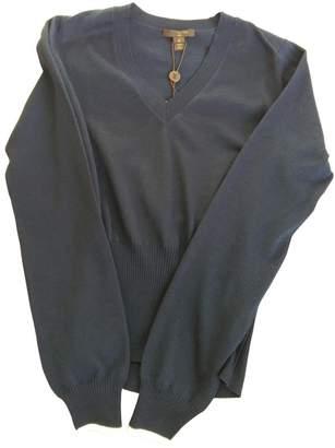 Louis Vuitton Navy Wool Knitwear