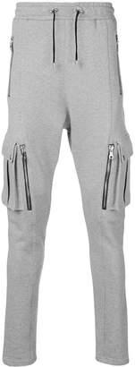 Balmain cargo track pants