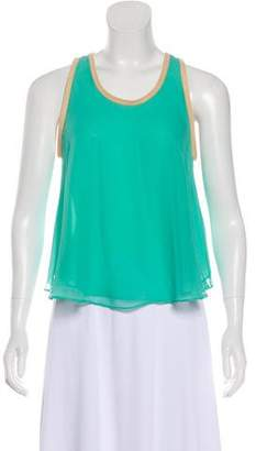 Elizabeth and James Sleeveless Silk Top w/ Tags