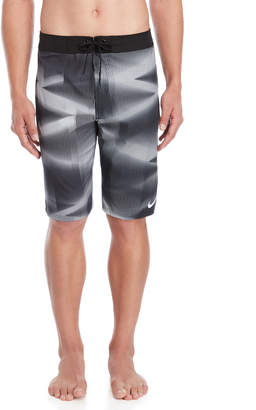 Nike Contrast Print Volley Swim Trunks