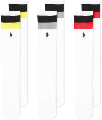 Polo Ralph Lauren Stripe Sport Sock - 3 Pack