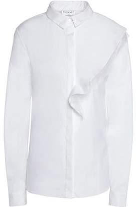 Vionnet Cotton-Blend Poplin Shirt