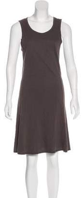 James Perse Sleeveless Knee-Length Dress