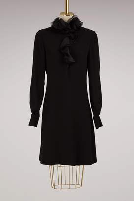 Lanvin Long sleeves dress with ruffles