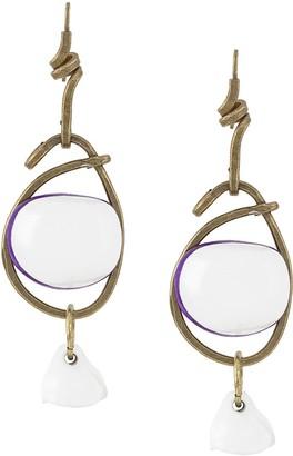Marni stacked earrings