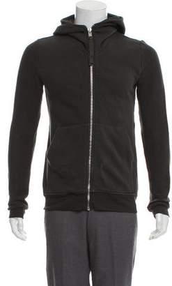 Damir Doma Hooded Zip-Up Sweatshirt