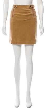 Steven Alan Corduroy Mini Skirt