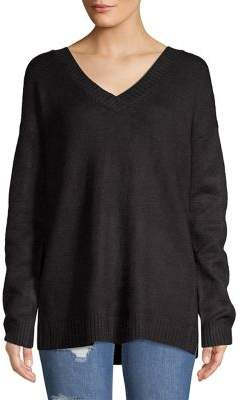 Lord & Taylor Classic V-neck Sweater