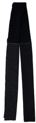 Barena Venezia Wool Houndstooth Scarf w/ Tags