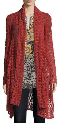 Johnny Was Long Lacey Jacket $290 thestylecure.com