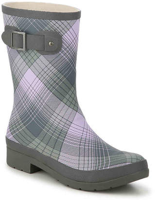 Chooka Picnic Plaid Rain Boot - Women's