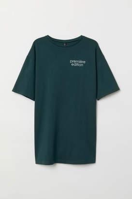 H&M T-shirt Dress - Green