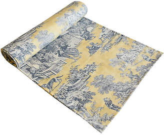 One Kings Lane Vintage French Country Toile Table Runner