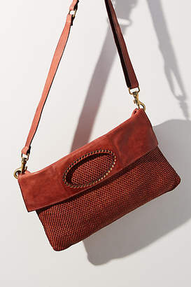 Campomaggi Woven Convertible Crossbody Bag