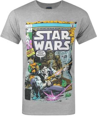 Star Wars Official Han And Chewie Poster Men's T-Shirt (XXL)