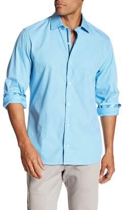 Tailorbyrd Regular Fit Stripe Dress Shirt
