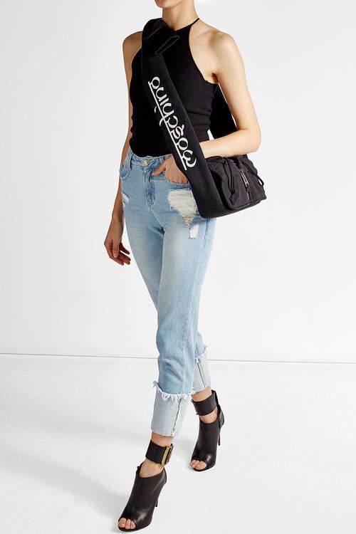 MoschinoMoschino Hoodie Shoulder Bag