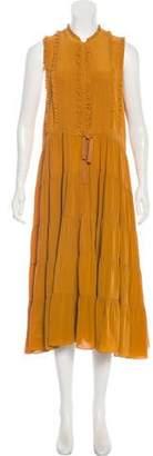 Ulla Johnson Sleeveless Silk Dress