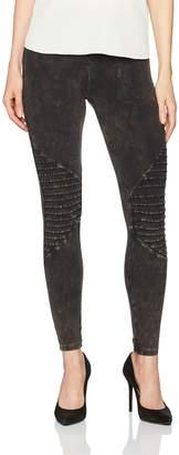 Hue Women's Cotton Moto Leggings Sockshosiery