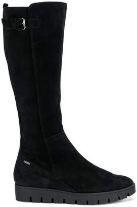 Högl flat knee length boots