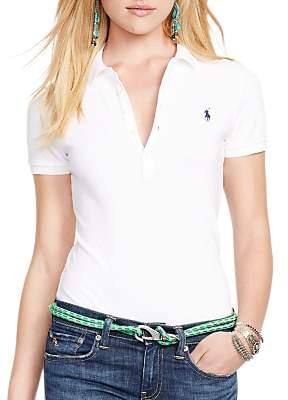 ff15e8742 Ralph Lauren Polo Julie Skinny Fit Stretch Polo Shirt