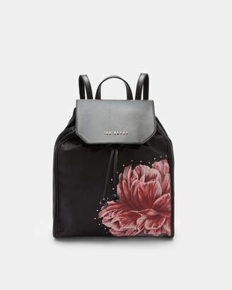 Ted Baker IBERIIS Tranquility drawstring backpack