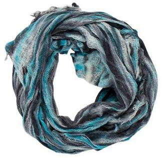 Raquel Allegra Printed Knit Scarf