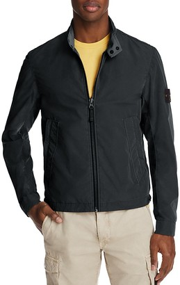 Stone Island Lightweigth Zip Front Jacket $590 thestylecure.com