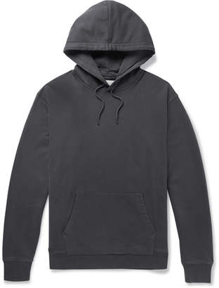 J.Crew Loopback Cotton-Jersey Hoodie - Dark gray