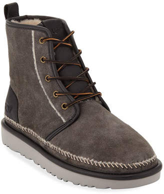 UGG Men's Harkley Stitch Suede Boots