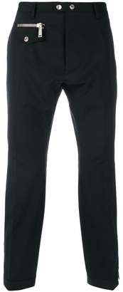 DSQUARED2 zip pocket wool trousers