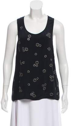 Gryphon Embellished Tank Top