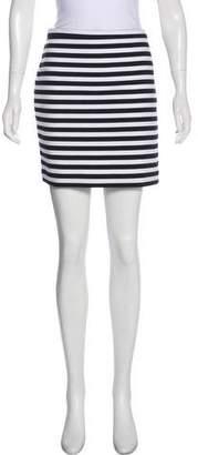 MICHAEL Michael Kors Striped Mini Skirt