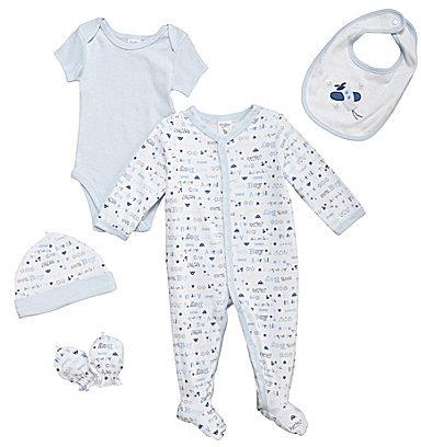 Starting Out Newborn 5-Piece Adorable Boy Set