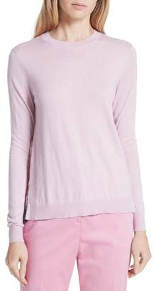Ted Baker Kaleese Serenity Pleat Back Silk Cotton Sweater