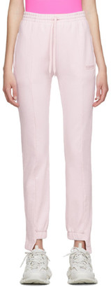 Vetements Pink Cut-Up Lounge Pants