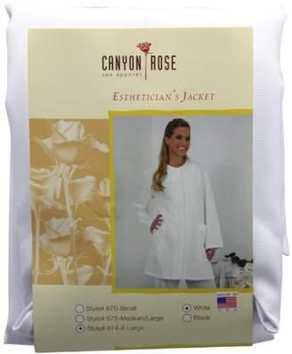 Canyon Rose Long Sleeve Salon Esthetician Jacket