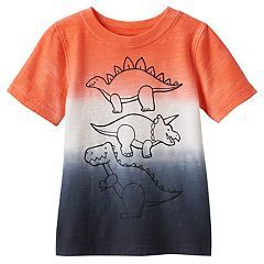 Baby Boy Jumping Beans® Dip-Dyed Dinosaurs Graphic Tee $12 thestylecure.com