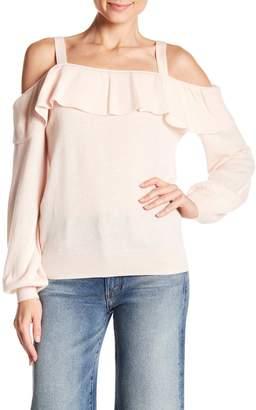 Joie Delbin Cashmere Cold Shoulder Sweater
