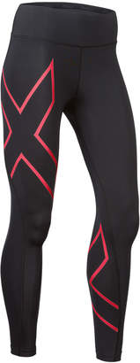 2XU Womens Bonded Mid Rise Compression Tights