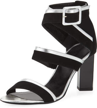 Pierre Hardy Alpha Strappy Mixed Sandals