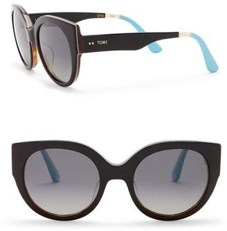 Toms 54mm Luisa Sunglasses