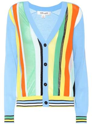 Diane von Furstenberg Cotton-blend cardigan