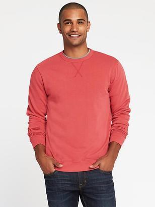 Garment-Dyed Fleece Sweatshirt for Men $26.99 thestylecure.com