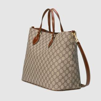 Free Ground Shipping At Gucci Gg Supreme Tote