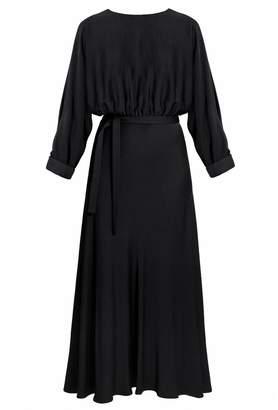 UNDRESS - Aria Black Midi Mermaid Dress