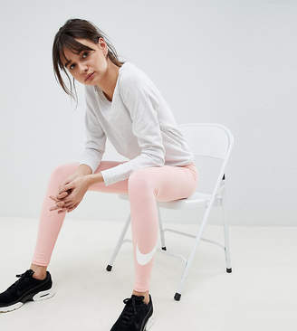 Nike Club Logo Leggings In Pink