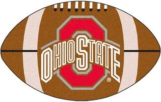 NCAA Fanmats FANMATS Ohio State Buckeyes Football Rug