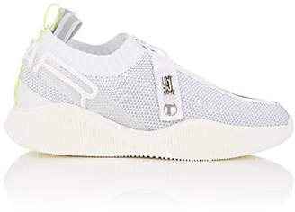 Swear London Women's Crosby Stretch-Knit & Tech-Fabric Sneakers - White